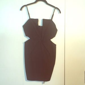 TOBI Black Mini Dress